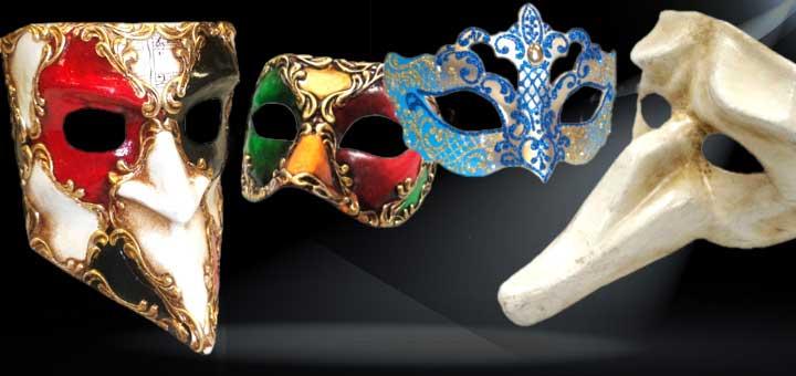 Deluxe Venetian Masks